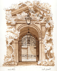 Main Gate - Colin Hayes print